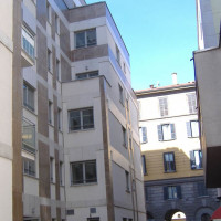 Complesso terziario e resienziale Via San Marco - Via Solferino Milano